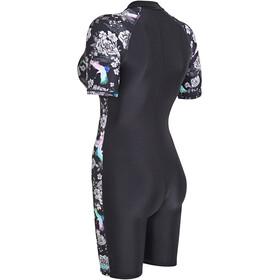 Zoggs Sakura Kneesuit Dames, black/multi